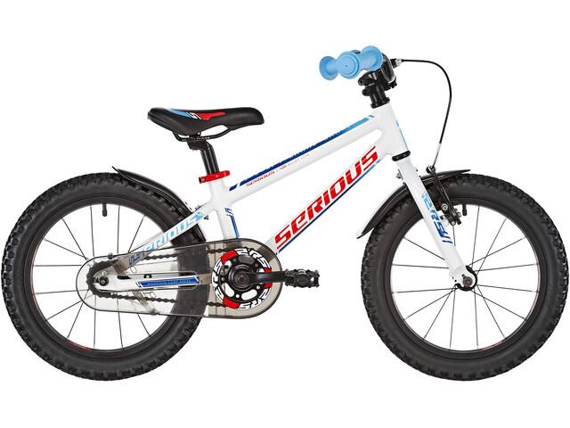 """Serious Superhero Lapset lasten polkupyörä 16"""" , valkoinen"""